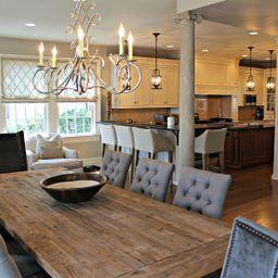 JLMN House Tour kitchen w table